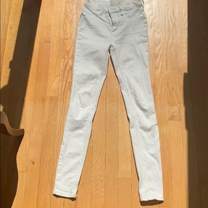 Free People white/ivory jeans